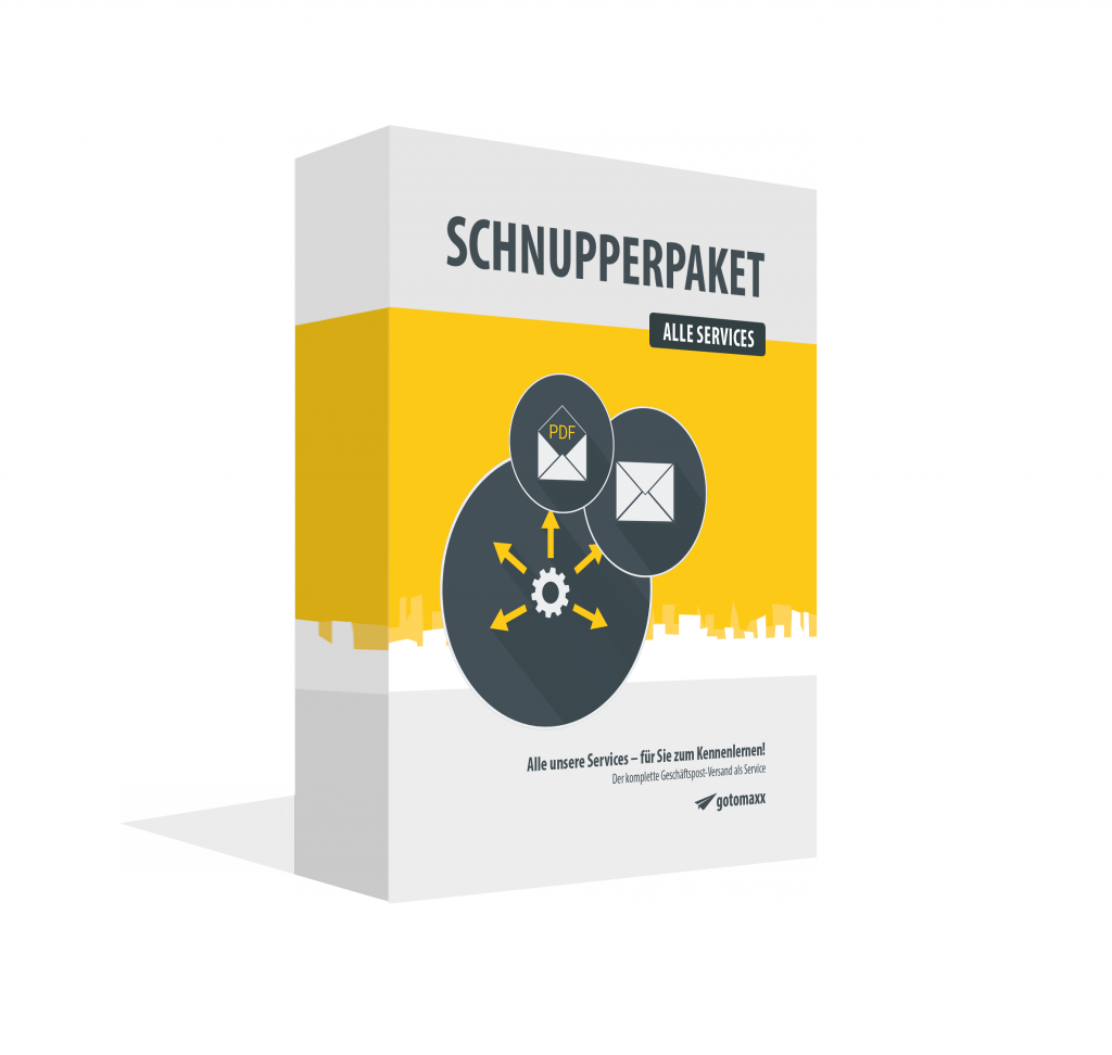 SCHNUPPERPAKET ONLINESERVICES inkl. PDFMAILER-Software